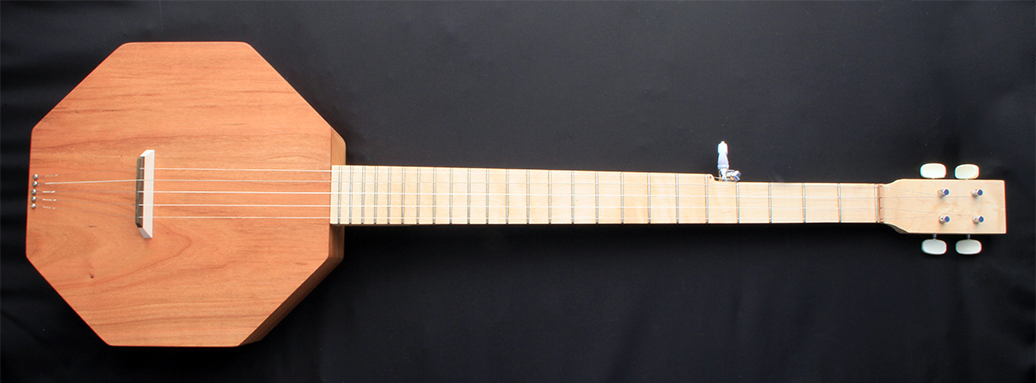 Wood Topped Banjo Mendel Frets